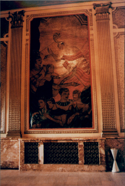 Warner Theatre Painting