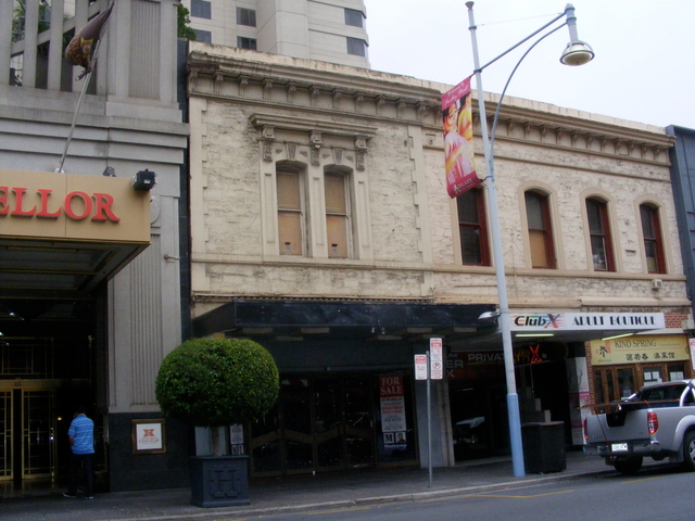 The former Lido Adult Theatre.