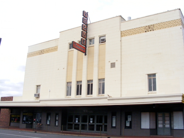 The Vogue Theatre.