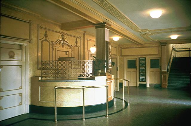Entrance Lobby.
