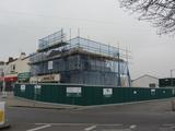 Demolition of Palace Cinema Shoeburyness. 18th March 2012