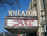 Wheaton Grand Theater, Wheaton, IL - marquee