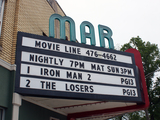 Mar Theatre, Wilmington, IL - marquee