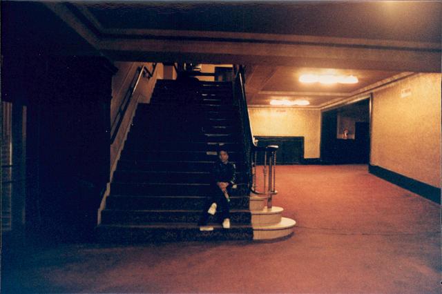 Warner Theatre Steps