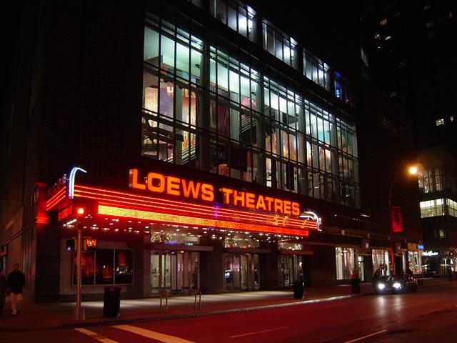 NYC - Times Square: Loews 42nd Street E-Walk Theatre