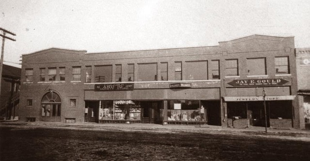 The Gould Building - Crystal Theater (on the far left)