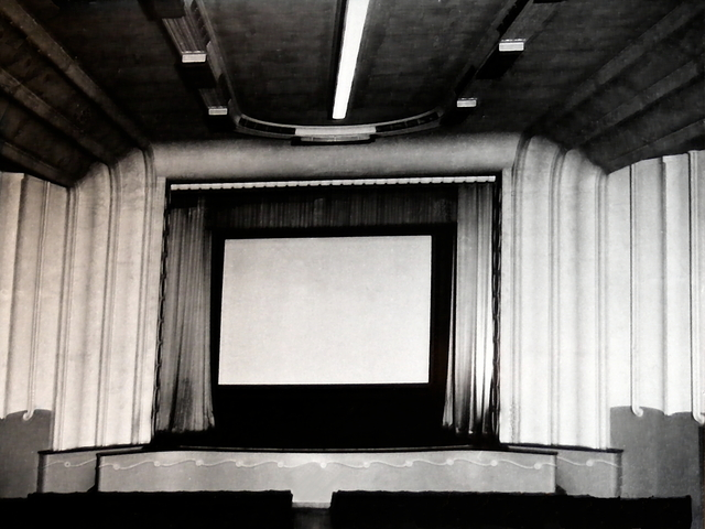 Auditorium, pre CinemaScope.