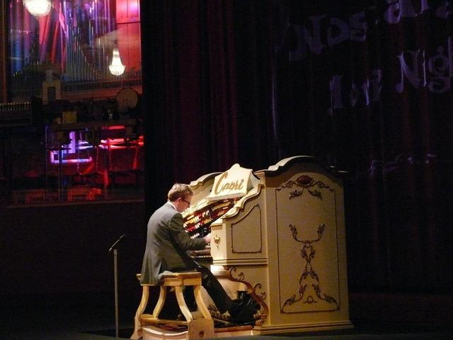 Organ Console and Main Chamber.