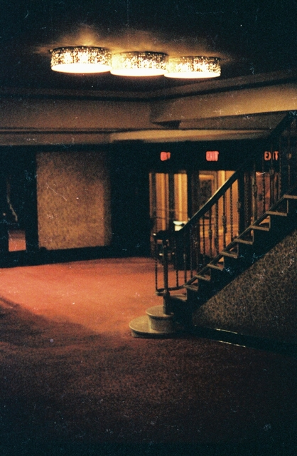 Warner Theatre Interior