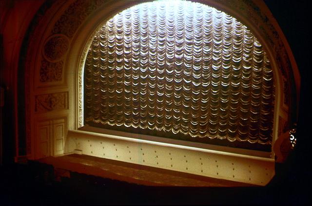 Proscenium, mid 1950s.