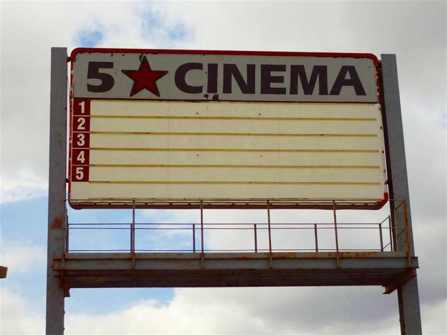 5-Star Cinema Sign