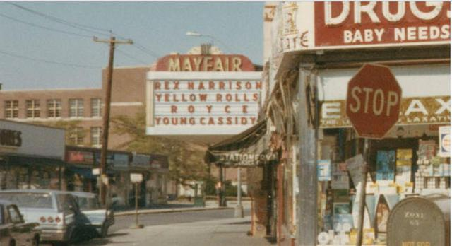 The Mayfair Theater, 1964 (now The Bombay)