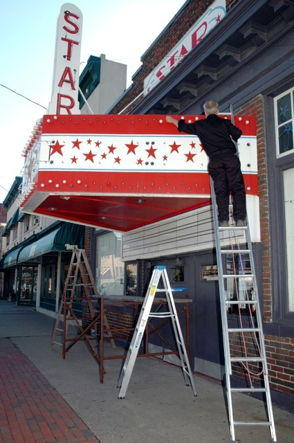 Keeping the lights on the marquee burning