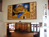 The Mural over the Landing.