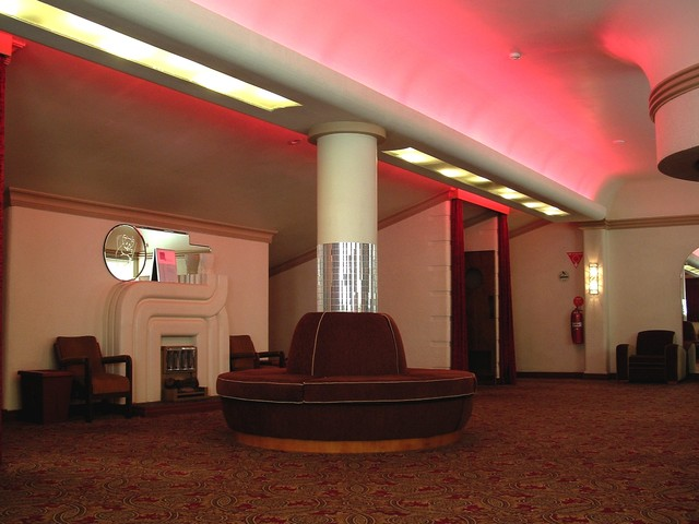 Dress Circle Foyer – southern end.