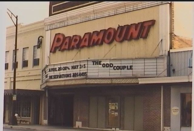 paramount theatre in burlington nc cinema treasures