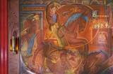 <p>Will Rogers Mural from the lobby.</p>