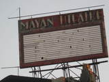 Mayan Advertising Sign