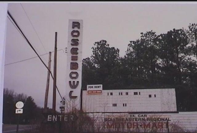 Rose Bowl Drive In In Ashland Va Cinema Treasures