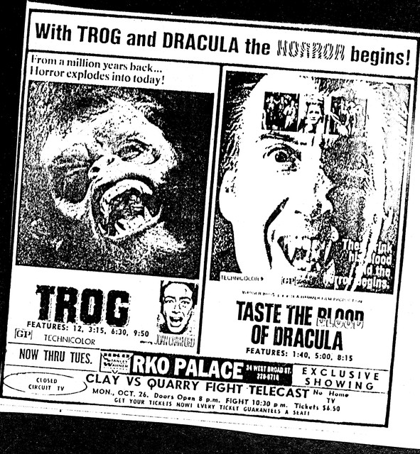 Trog/Taste the Blood of Dracula