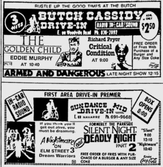 Butch Cassidy Drive-In