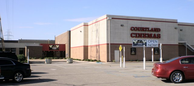 Exterior photo of NCG Courtland Cinemas