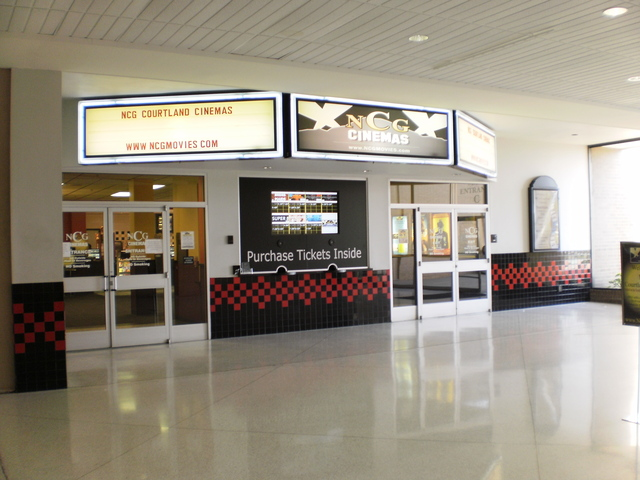 NCG Courtland Cinemas entrance