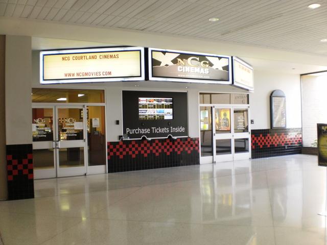 NCG Courtland Cinemas entrance