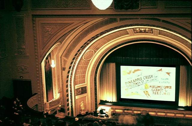 Adelaide Regent Auditorium.