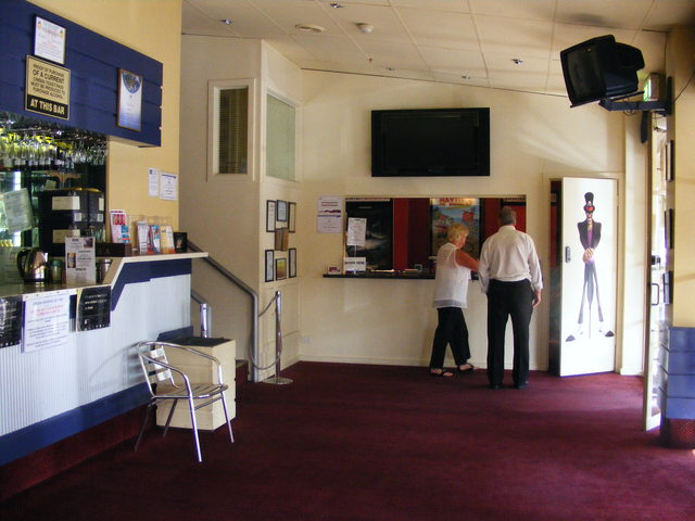Entrance and Booking Office.