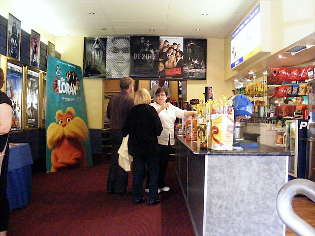 The Refreshment Bar.