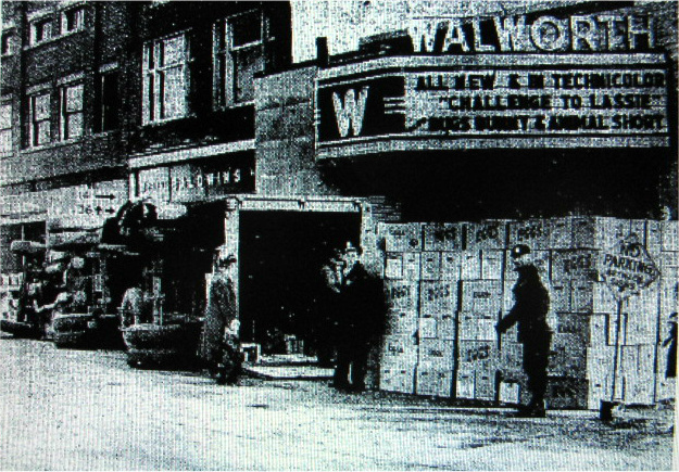 WALWORTH Theatre, Walworth WI on February 27, 1950.