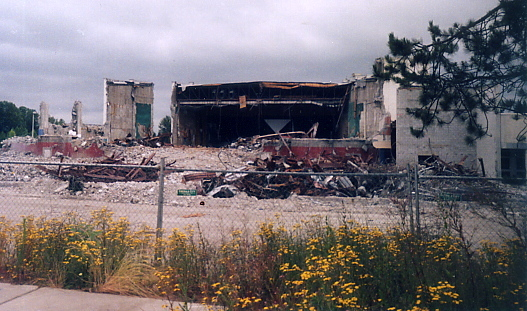 Lewis & Clark demolition
