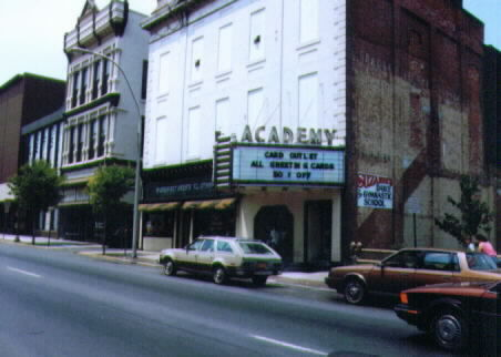 Academy Theatre.