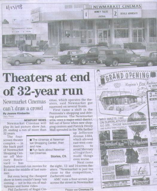 Newmarket Cinemas 1-4