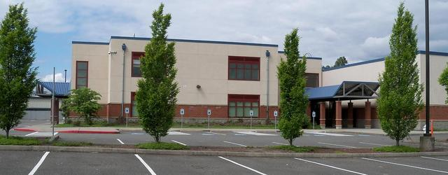 Kent Meridian High School Offices at site of Kent 6