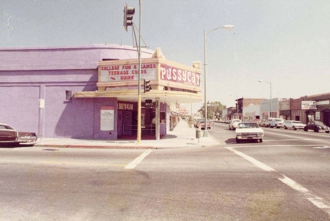 The pussycat theater 1975
