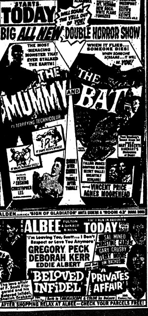 The Mummy/The Bat