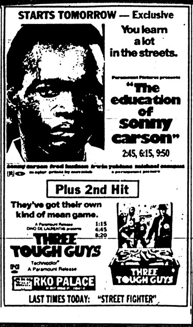 The Education of Sonny Carson/Three Tough Guys