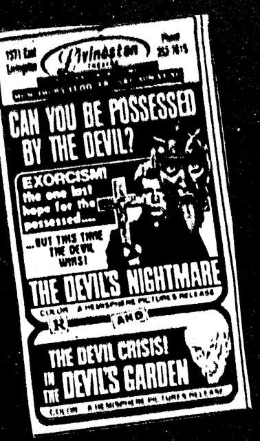 The Devil's Nightmare/In the Devil;s Garden