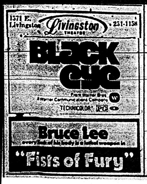 Black Eye/Fists of Fury