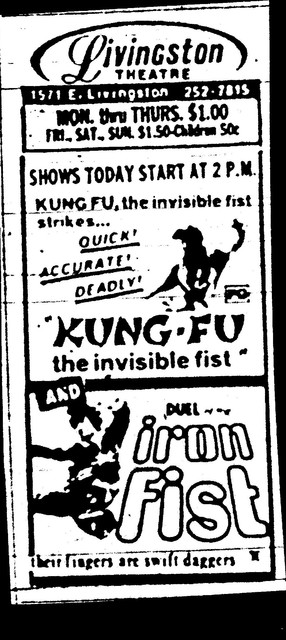 Kung Fu - The Invisible Fist/Duel of the Iron Fist