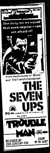 The Seven Ups/Trouble Man