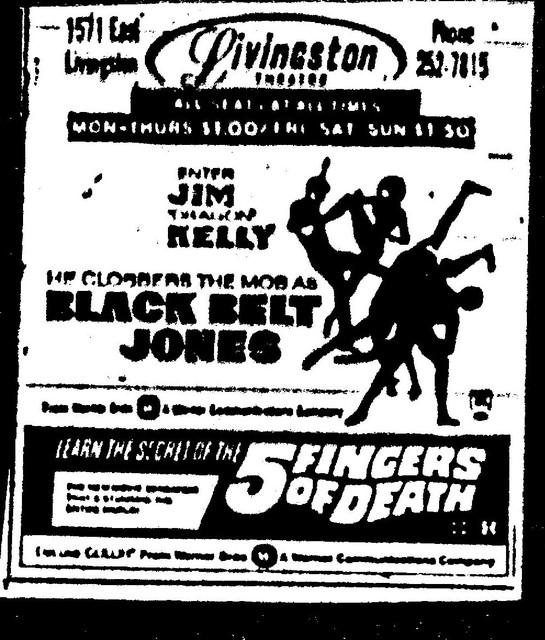 Black Belt Jones/5 Fingers of Death