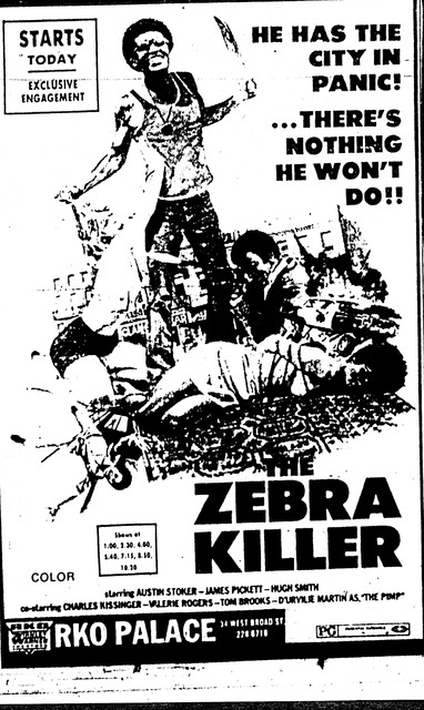 The Zebra Killer