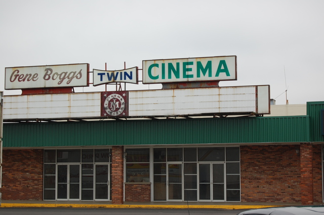 Gene Boggs Twin Cinema