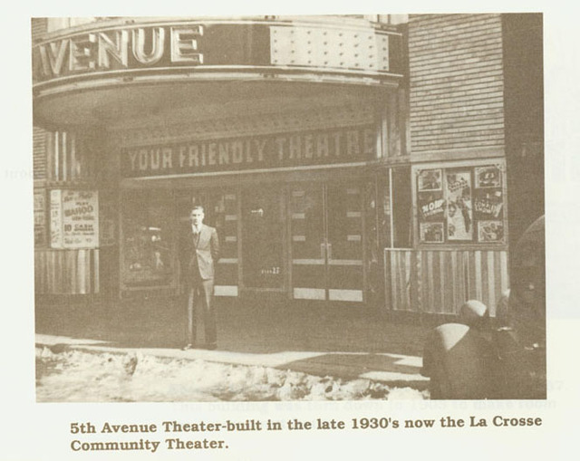 5th Avenue Theater in the 1950s