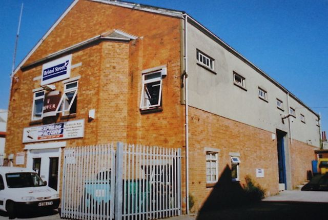 Ritz cinema as a parts depot