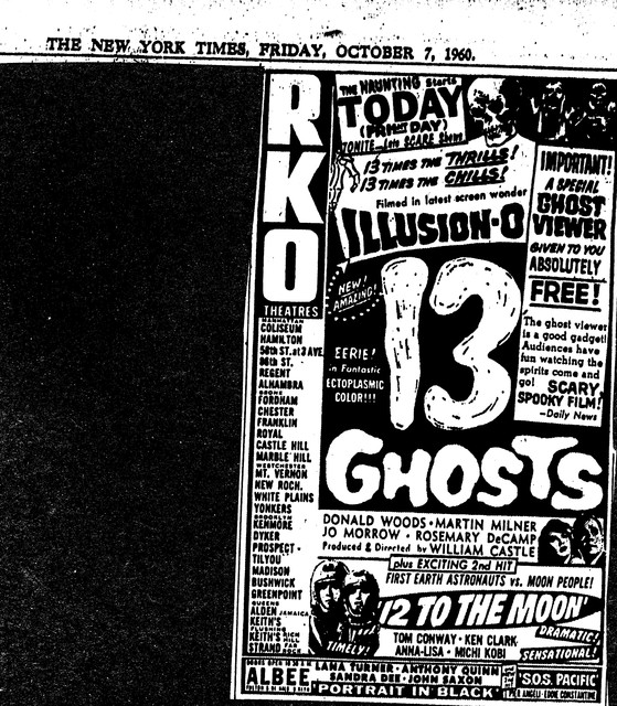 13 Ghosts/12 to the Moon