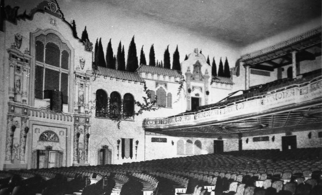 VENETIAN Theatre, Racine, Wisconsin (South side of auditorium)